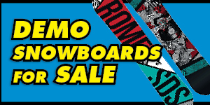 Demo Snowboards for Sale
